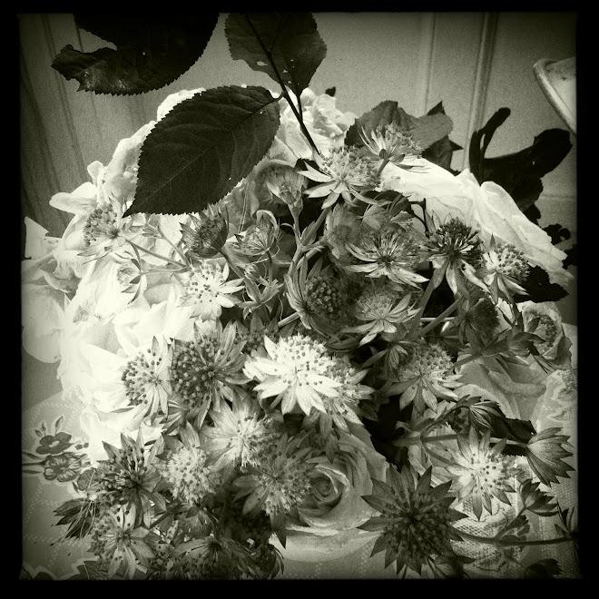 bouquet à la maison