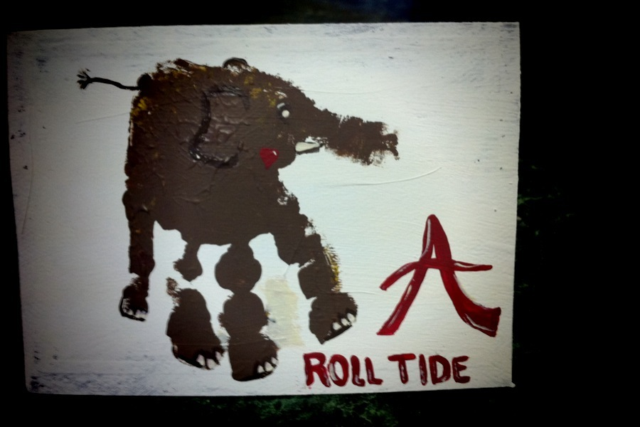 Home with Mama Happy Birthday and Roll Tide