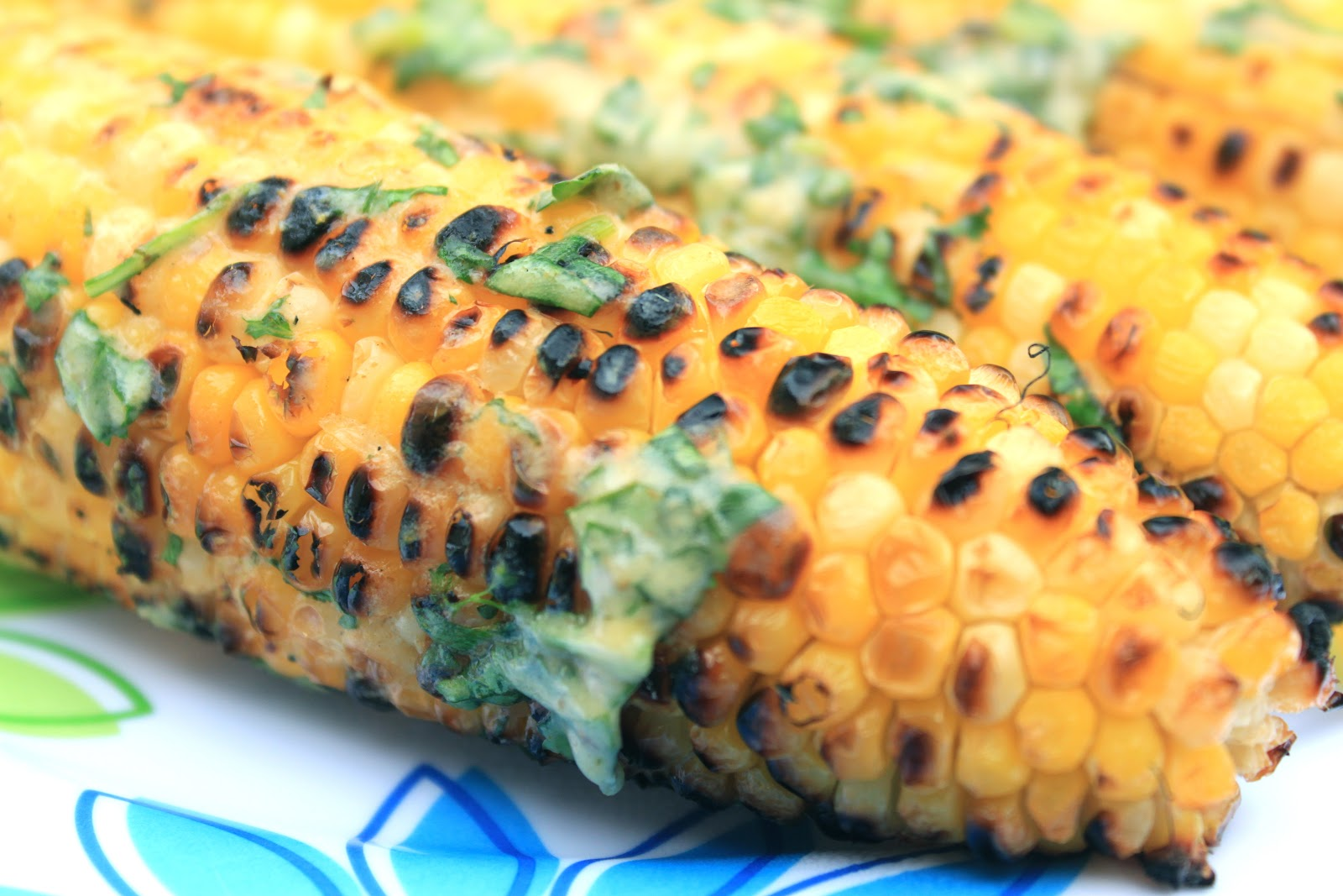 Cilantro-Lime Grilled Corn on the Cob