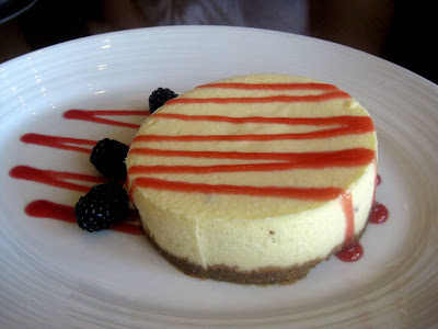 Cheesecake Dessert at Melt in Center Valley, PA - Photo by Taste As You Go