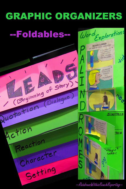 Graphic Organizers, foldables, Dinah Zike