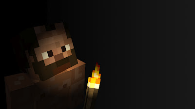 Minecraft user fpsxgames In dark mine and torch