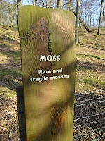 Signs at Rushmere Country Park