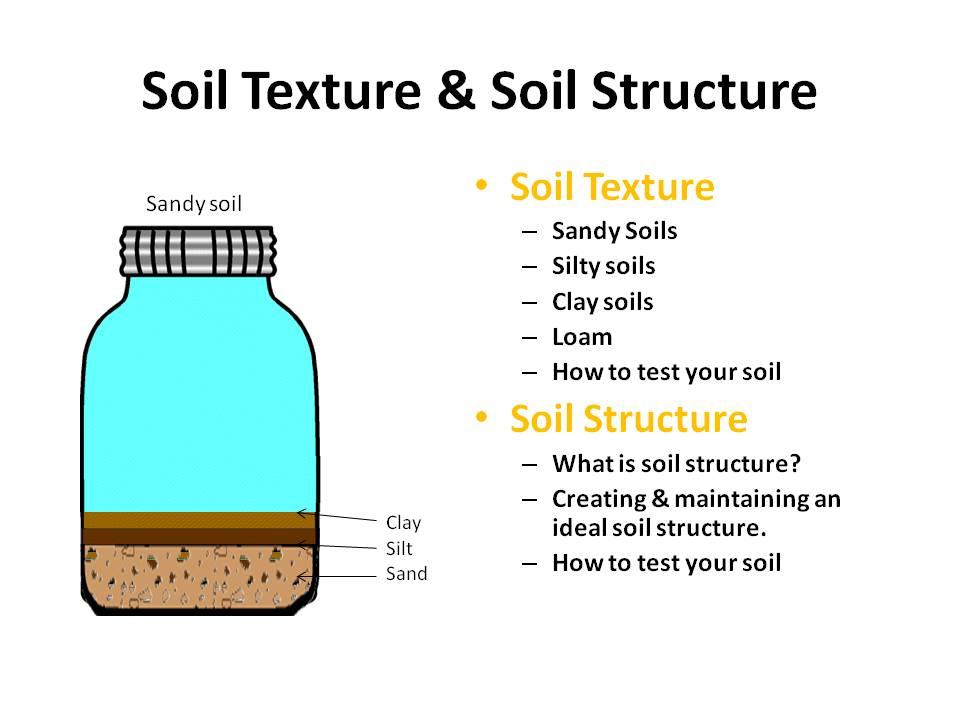 an analysis of the different soil particle properties