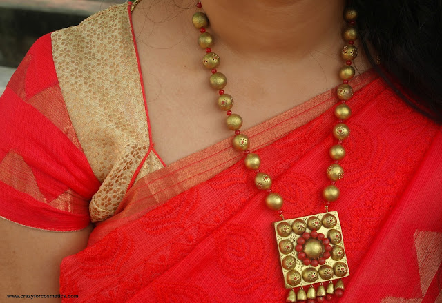 terracotta jewellery designs