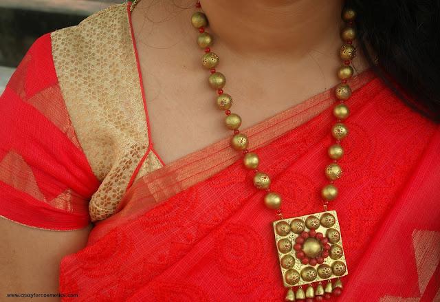 terracotta jewellery designs