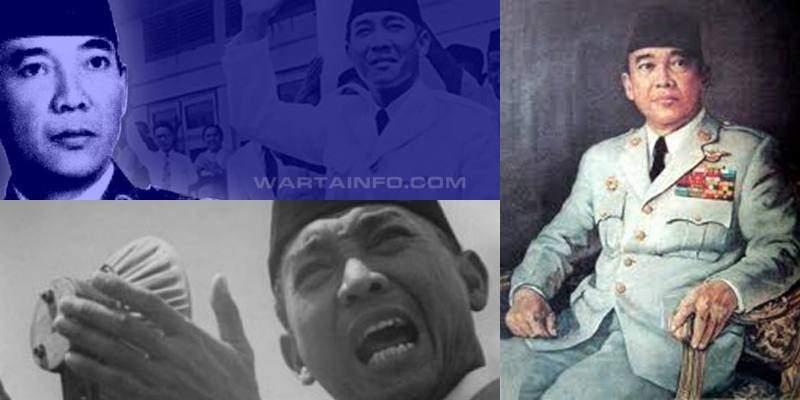 Foto Gambar Berwarna Kamar Presiden Soekarno yang Terkenal Angker Mistis dan Keramat