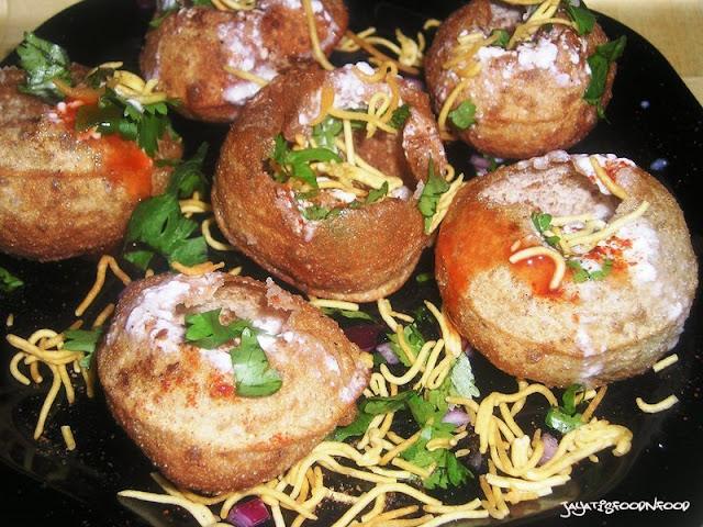 Dahi Fuchka - Indian Street Food