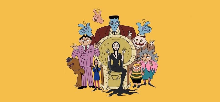 A Familia Addams - Desenho Animado 1993 Desenho 480p TVRip completo Torrent