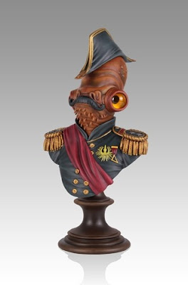 "Gentle Giant ""Magnitude"" Star Wars Admiral Ackbar SDCC 2013 Exclusive Bust"
