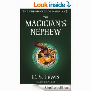 http://www.amazon.com/Magicians-Nephew-Chronicles-Narnia-ebook/dp/B001I45UF2/ref=sr_1_1?ie=UTF8&qid=1396360190&sr=8-1&keywords=the+magicians+nephew