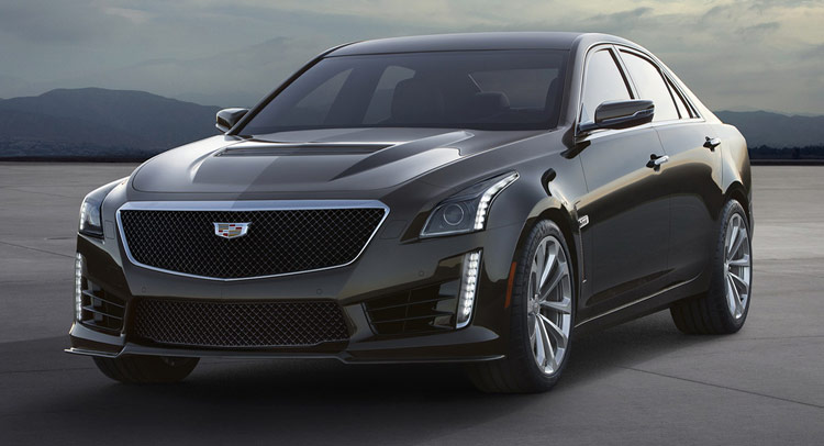 new 2016 cadillac cts v has 640hp supercharged v8 reaches 200mph. Black Bedroom Furniture Sets. Home Design Ideas