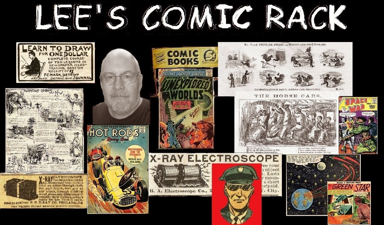 Lee's Comic Rack