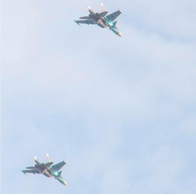 Ataques aéreos russos contra o ISIS na Síria