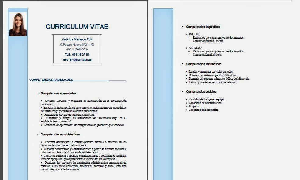 habilidades y competencias en el curriculum vitae    insightanalytics co in