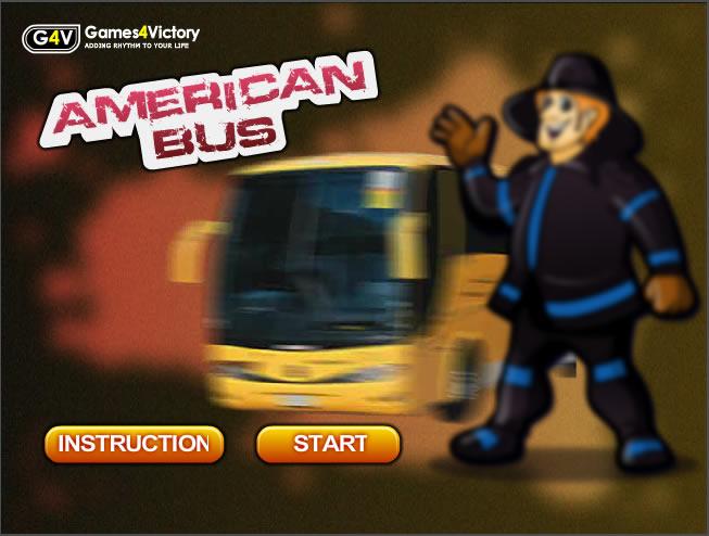 Truck Game : American Bus