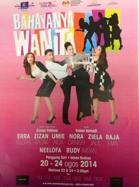 Gambar Video Teater Bahayanya Wanita Di Istana Budaya
