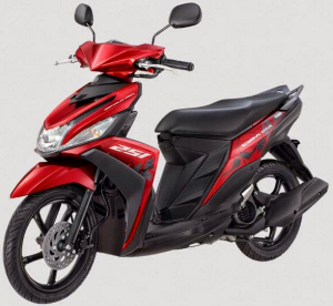 Yamaha Mio M3 125 Blue Core Warna Selfie Red