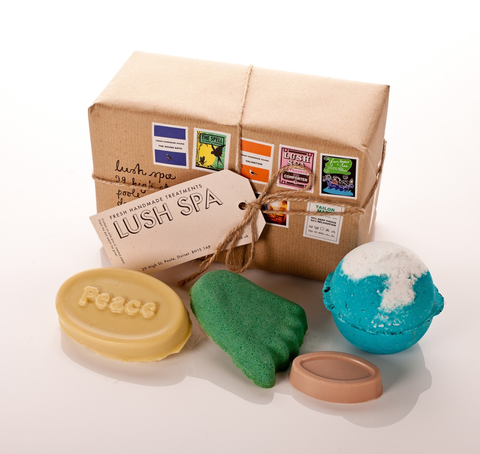 The Yellow Sunflower: Introducing: The Lush Spa Gift Box