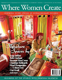 Where Women Create May June July 2011
