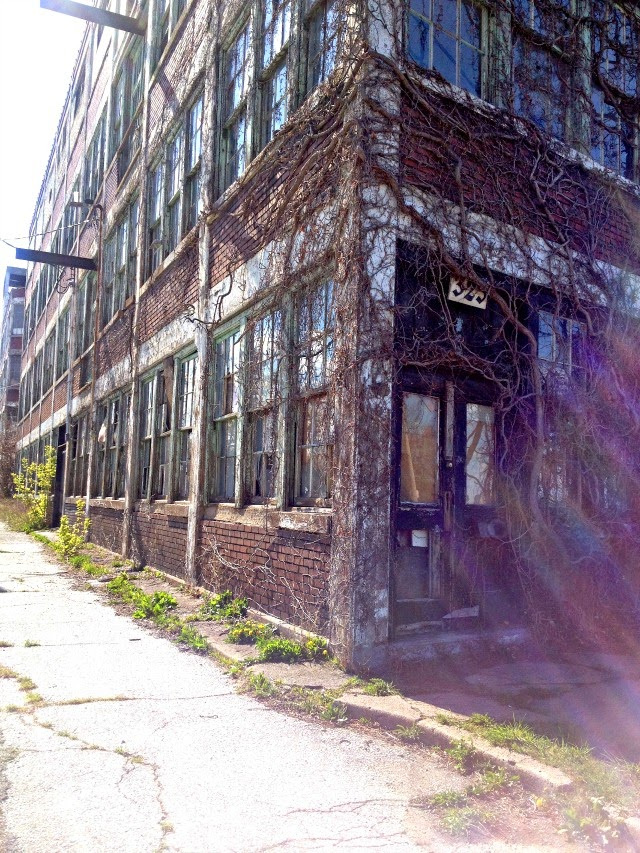 Abandoned Building Walkerville Windsor Ontario