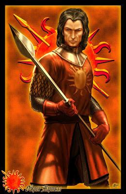 Oberyn Martell Víbora roja by Amok - Juego de Tronos en los siete reinos