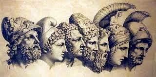 Οι Επτά Σοφοί Θαλής ο Μιλήσιος Πιττακός ο Μυτιληναίος Βίας ο Πριηνεύς Κλεόβουλος o Ρόδιος Σόλων ο Αθηναίος Περίανδρος ο Κορίνθιος Χίλων o Λακεδαιμόνιος