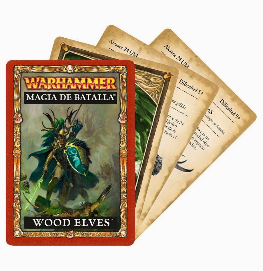 Warhammer Magia de Batalla: Wood Elves