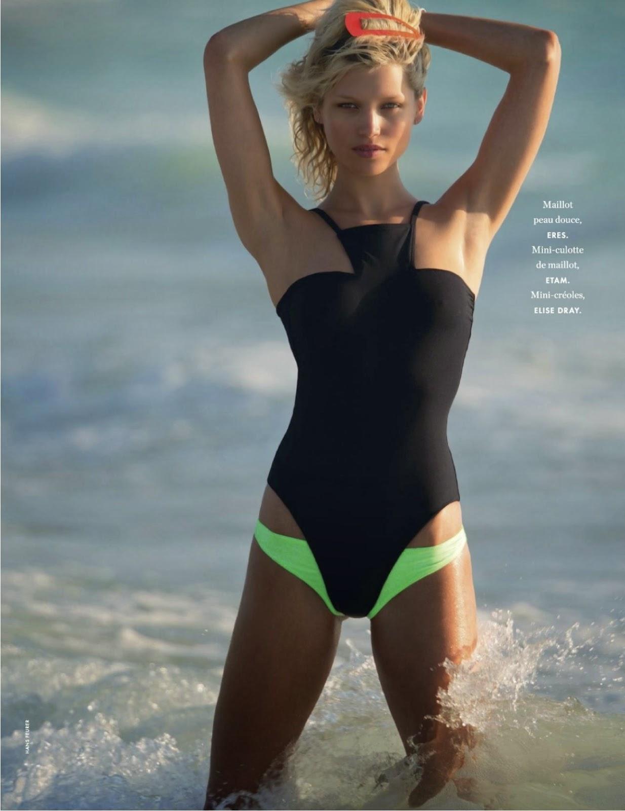 Hana Jirickova - Elle France Magazine