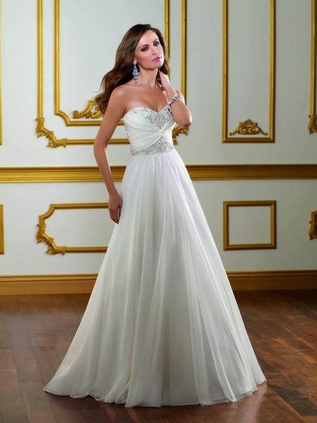 Mi vestido de novia blanco