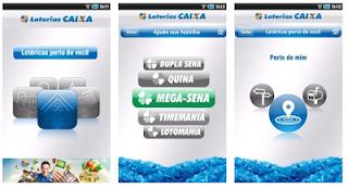 aplicativo Android para Mega Sena