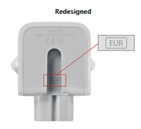 Redesigned Apple Wall Plus Adapter