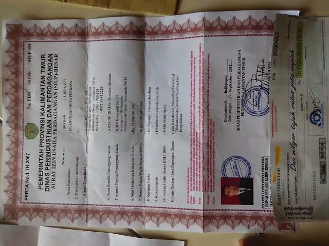 Penipuan dengan Modus Sebar Dokumen SIUP dan Cek Palsu Beredar Kembali