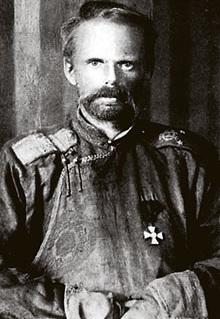 foto del Baron Ungern-Sternberg llamado el Baron maldito