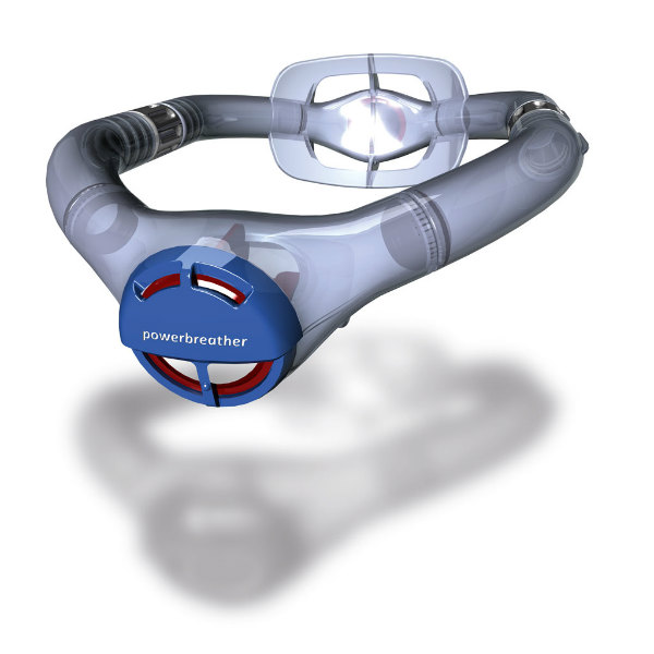 Powerbreather Snorkel For Swimmers Spicytec