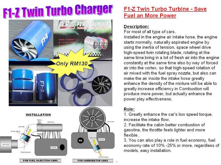 F1Z Twin turbo - RM130