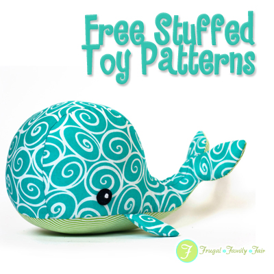 Free Stuffed Toy Pattern Frugal Family Fair Fascinating Stuffed Animal Patterns