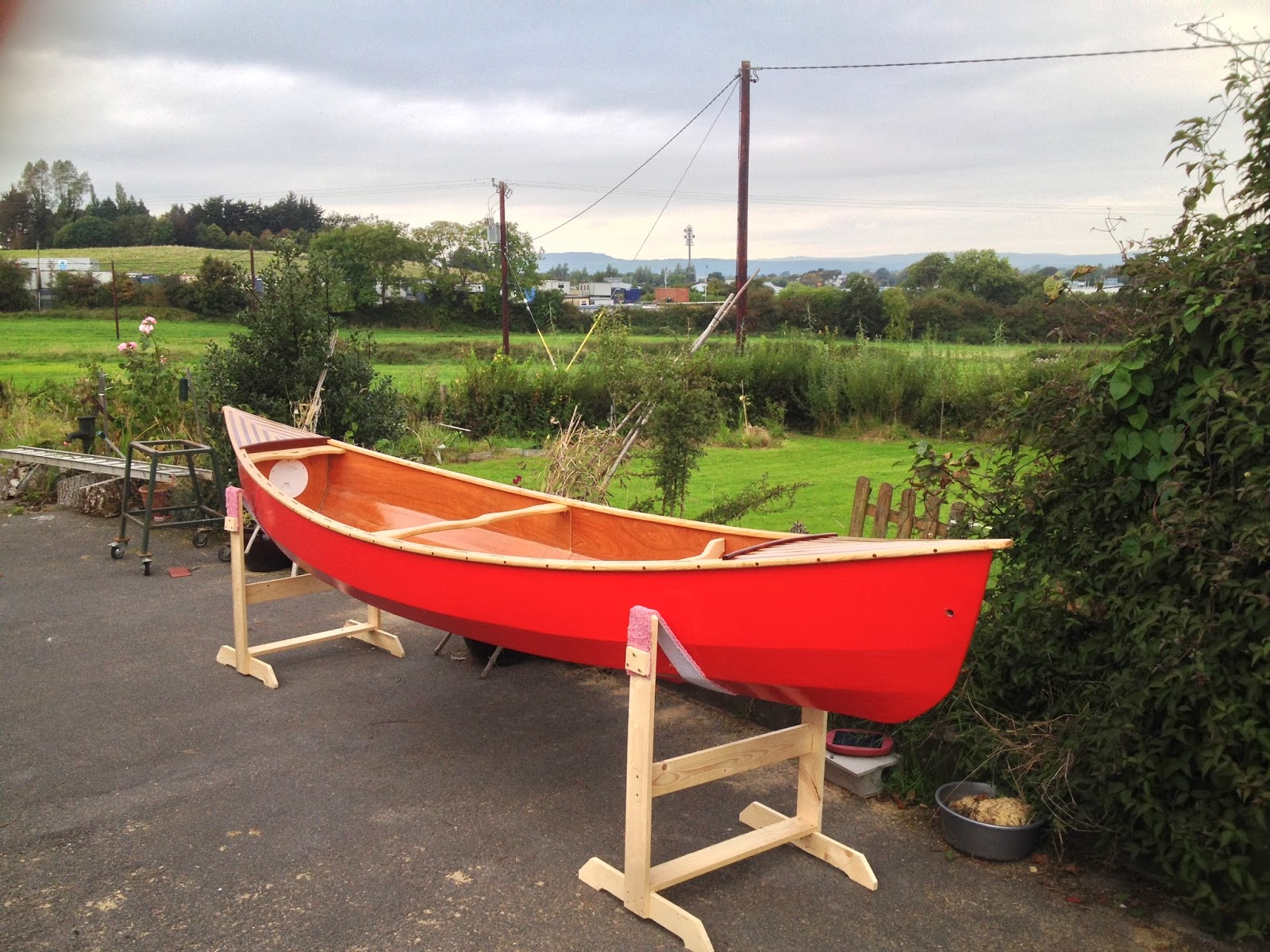 Waterman 16 - Canoe Build: Step 6 - Fitting Out for Sailing!