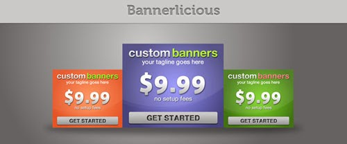Classy Web Banners