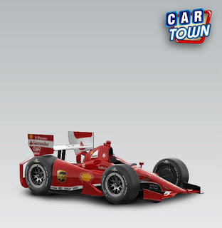 Cie Games INDYCAR 2013 F1 Ferrari