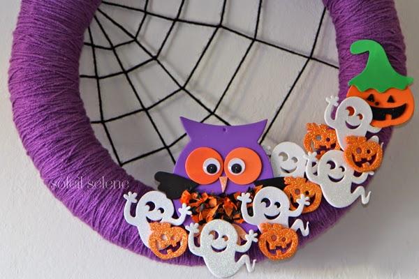 Corona de Halloween Facil y Rapida, Manualidades para Niños