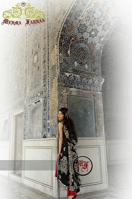 Mehma Farhan Bridal Wear Dresses Collection 2013