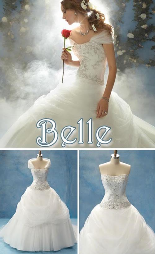 Vestido de noiva princesa Bella