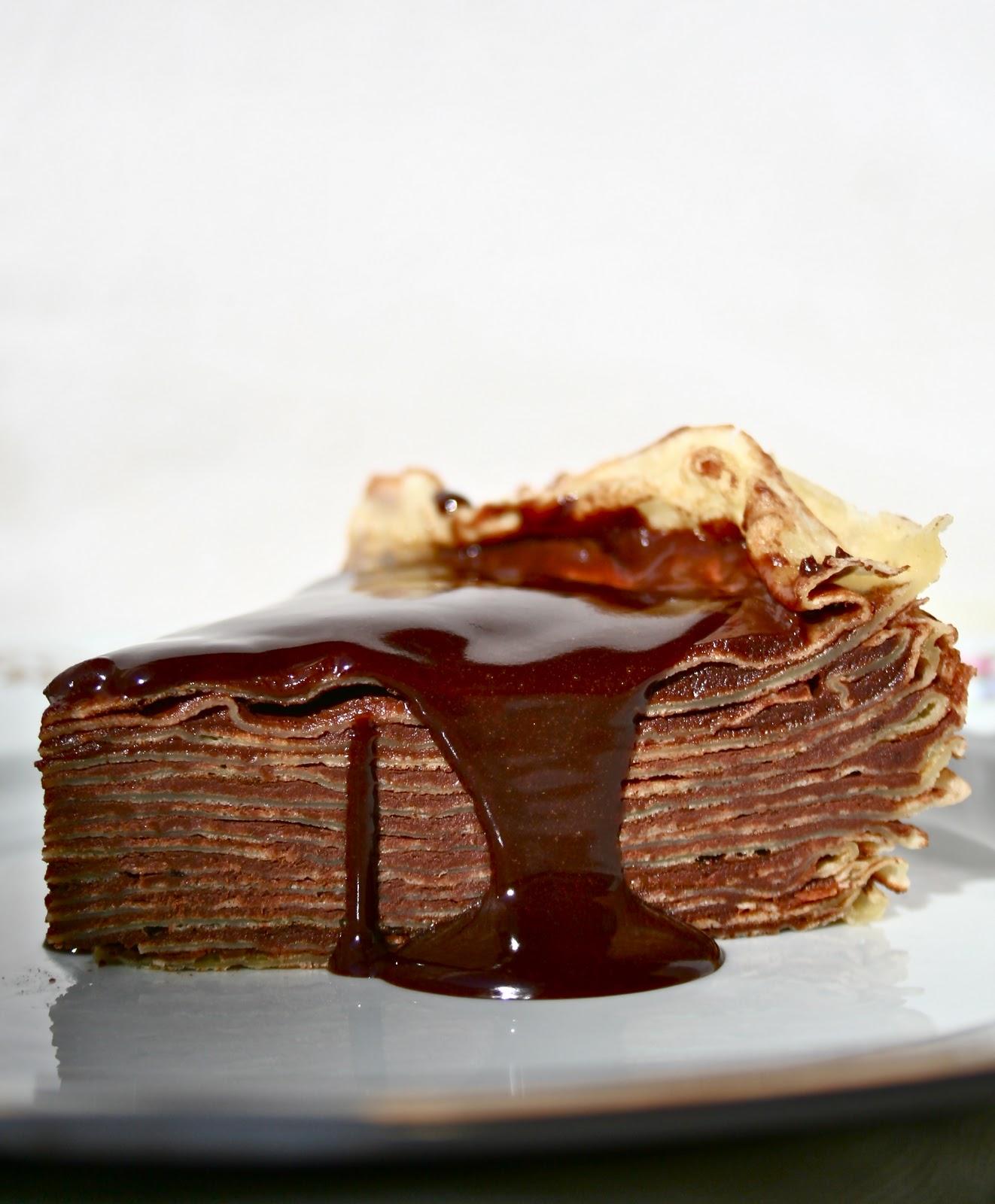 Chocolate Crepe Cake Recipe