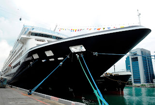 Azamara Cruises' Azamara Journey Fresh from Refit.
