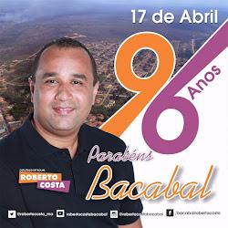 BACABAL, 96 ANOS!