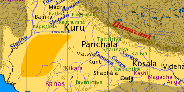 Kuru Kingdom in 750 BCE