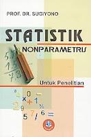 toko buku rahma: buku STATISTIK NON PARAMETRIS, pengarang sugiyono, penerbit alfabeta