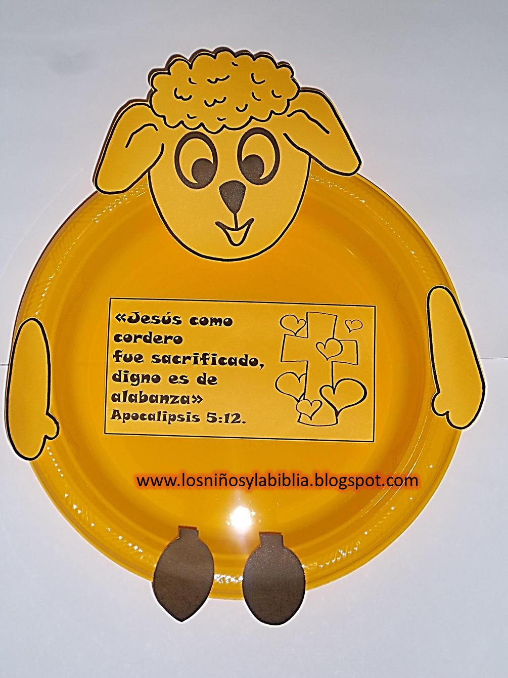 Manualidades sencillas para niños y la biblia - Imagui