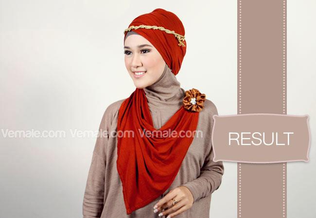 Cara Memakai Jilbab Syari Cantik Cara Memakai Jilbab Tutorial Hijab ...